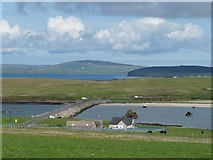 ND4798 : Churchill Barrier No. 3, Orkney Islands by Robin Drayton