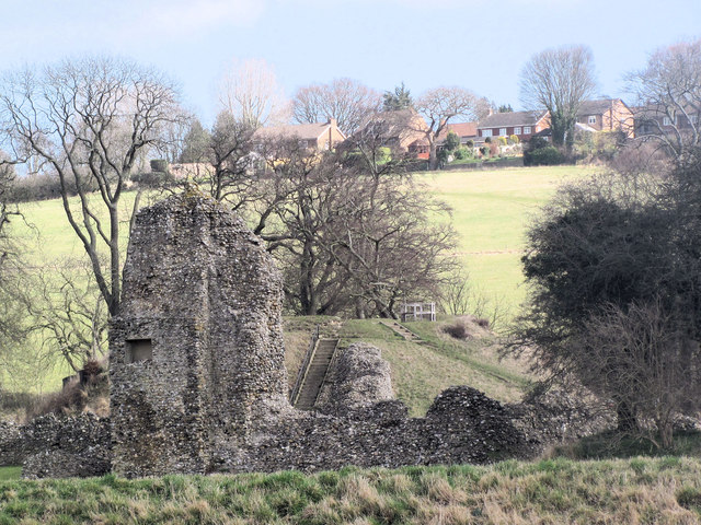 Motte and Bailey, Berkhamsted Castle
