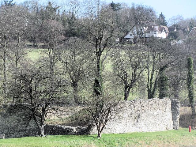 The Curtain Wall, Berkhamsted Castle