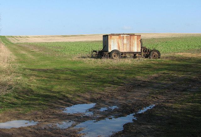 Gateway to a big field