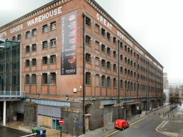 Great Northern  Railway  Warehouse