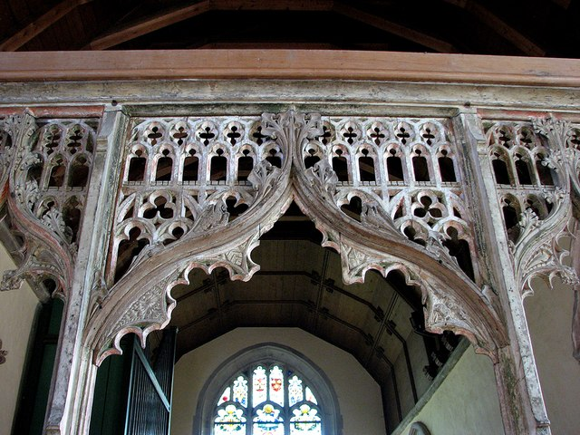 Barton: St Peter - rood screen