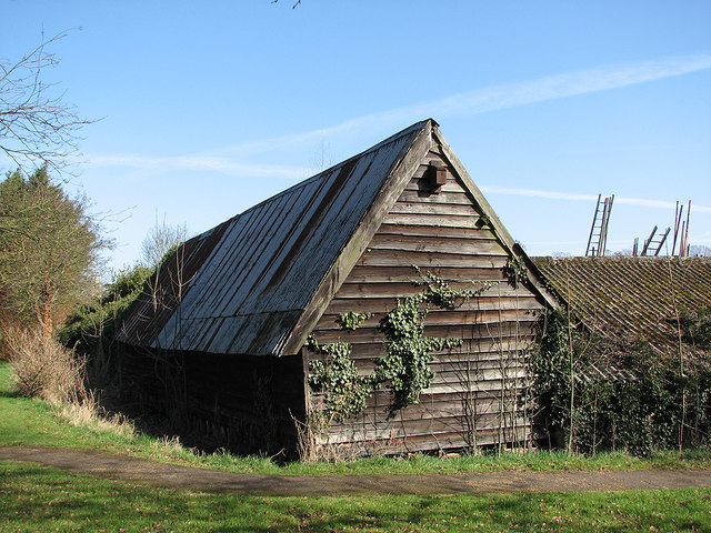 Barton: weatherboarded barn