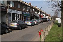 TQ2081 : Shops on Horn Lane by Martin Addison