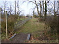 TM3966 : Footpath to the A12 Main Road by Adrian Cable