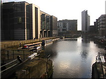 SE3032 : Leeds Clarence Dock by Robin Mais
