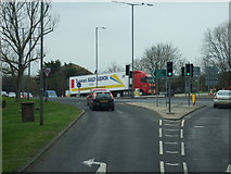 TQ5704 : A2270 towards the A27 and Brighton by JThomas