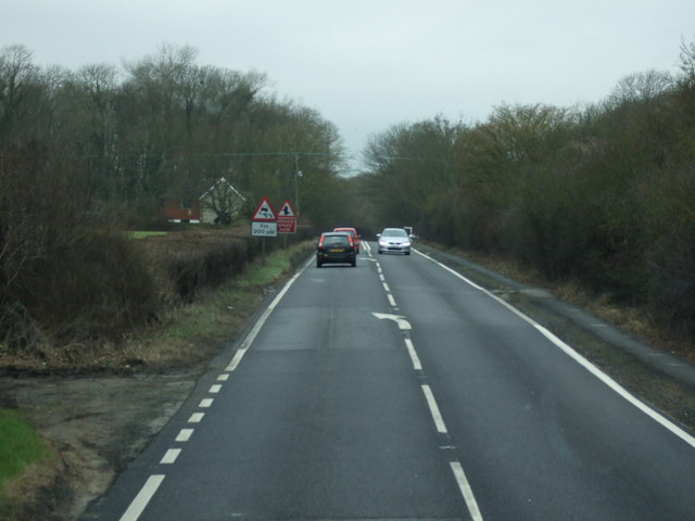 A27 heading west