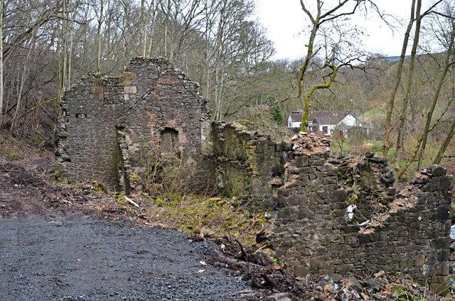 Dura Den mill