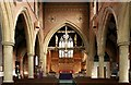 TQ2886 : St Mary Brookfield, Dartmouth Park Road - East end by John Salmon