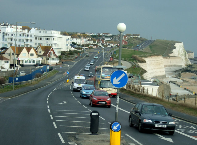 South Coast Road towards Newhaven by JThomas