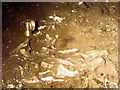 SX7466 : Crushed Bones in Joint Mitnor Cave, Higher Kiln Quarry by Chris Reynolds