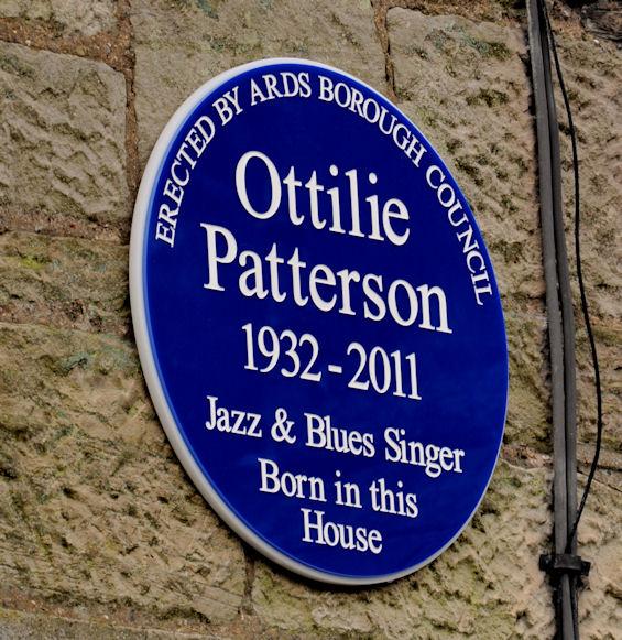 Ottilie Patterson plaque, Comber