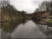 SD8008 : River Irwell by David Dixon