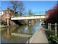 SJ3966 : Footbridge over the Shropshire Union Canal by Jeff Buck