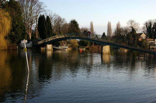 Footbridge, Eel Pie Island, Twickenham