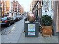 TQ2880 : Egg 23 in The Fabergé Big Egg Hunt by PAUL FARMER