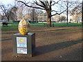 TQ2879 : Egg 87 in The Fabergé Big Egg Hunt by PAUL FARMER