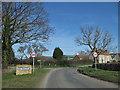 SE8270 : Settrington village limits by Pauline E