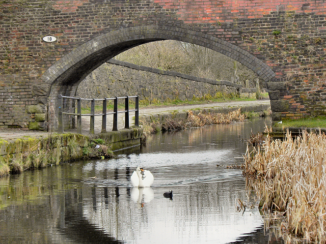 How Many Miles From >> Manchester, Bury and Bolton Canal,... © David Dixon :: Geograph Britain and Ireland