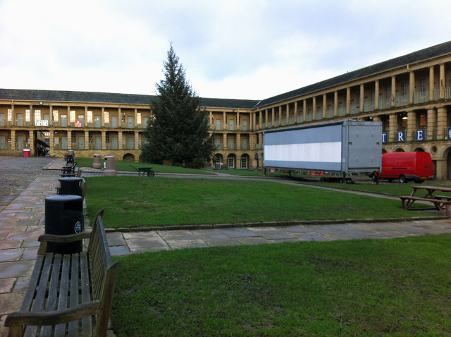 West side of the Piece Hall, Halifax