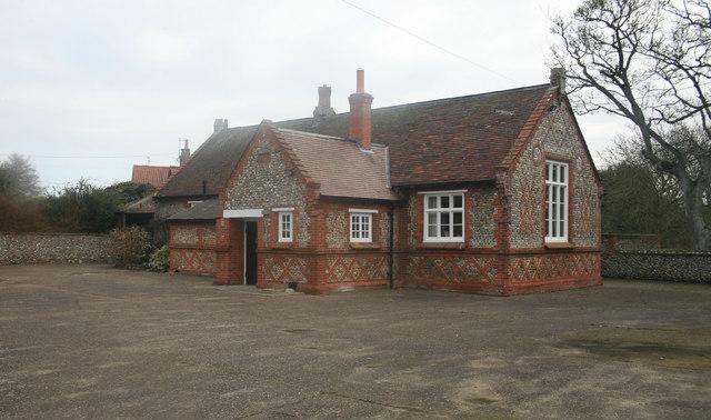 Former Village School building at Stiffkey