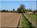SU4839 : Farmland, Wonston by Andrew Smith