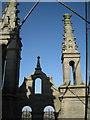 SP2864 : Pinnacles, St Mary's Church tower: 1 by Robin Stott