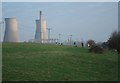 TR3362 : Richborough Towers before demolition by Oast House Archive