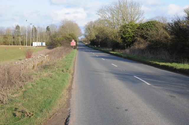 Unclassified road east of Minchinhampton