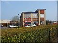 SY6779 : Weymouth - KFC by Chris Talbot