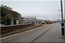 TQ3005 : Brighton lines, looking north west by SMJ