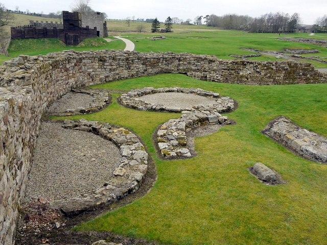 South-west part of Vindolanda Roman Fort