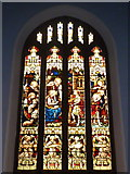 TR3865 : East window of the Holy Trinity Church, Bellevue Road, Ramsgate by pam fray