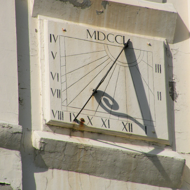 Sundial on the Keelmen's Hospital