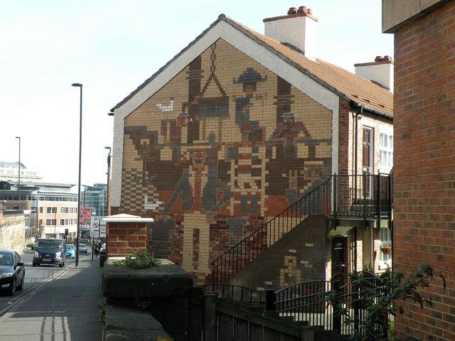 Mural, Sallyport Crescent