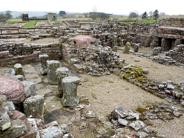 Military Bath House, Vindolanda Roman Fort