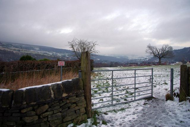 Stubb Playing Fields,  fields off Roger Gate, Mytholmroyd