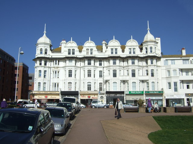Shops and apartments, Bexhill