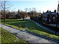 SJ8293 : Housing at Weller Avenue, Chorlton by Phil Champion