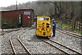 SJ8248 : Apedale Valley Light Railway - the yellow Simplex by Chris Allen