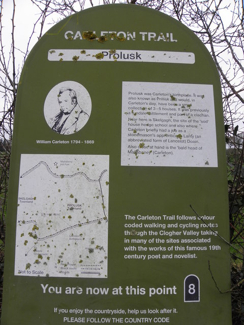 Carleton Trail Information Board