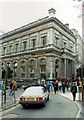 SP0786 : Midland Bank, Temporary Home 128 New Street by Roy Hughes