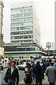 SP0786 : Midland Bank New Street, Closed for refurbishment. 1990 by Roy Hughes