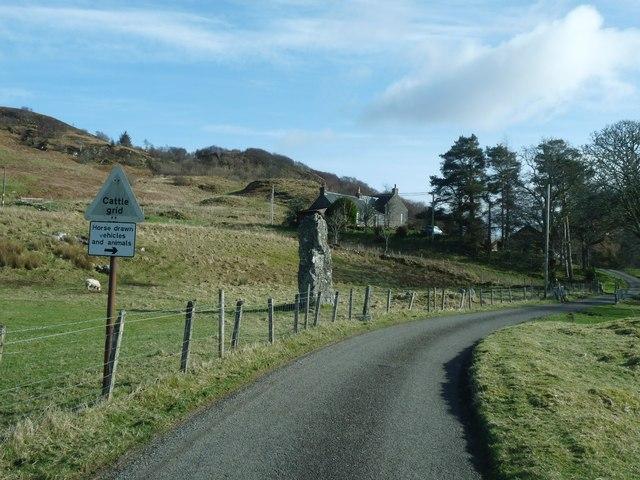 The Glen Lonan road and Strontoiller