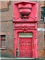 SJ8499 : Working Girls' Home Doorway by David Dixon
