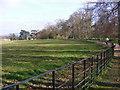 SJ5410 : Park Fence by Gordon Griffiths
