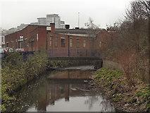 SJ8499 : River Irk, Manchester by David Dixon