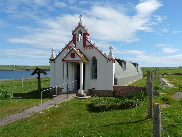 Italian Chapel, Lamb Holm, Orkney Islands