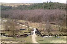 SK1695 : Slippery Stones bridge, Upper Derwent Valley by Chris Morgan